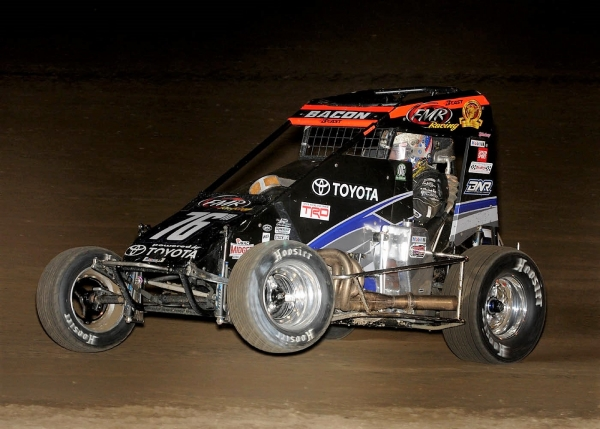 "Brady Bacon swept both nights of last weekend's ""Kokomo Grand Prix."""