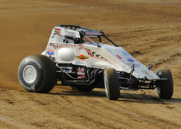 "Robert Ballou at the ""Tony Hulman Classic"" last Wednesday."