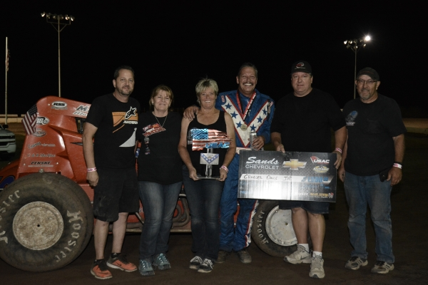 Charles Davis Jr. Wins at Peoria