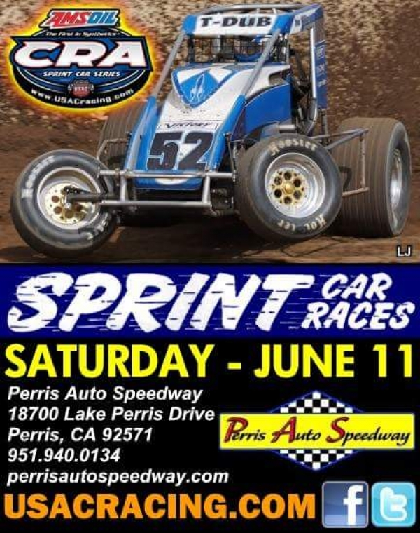 CRA SPRINTS RESUME SATURDAY AT THE PAS