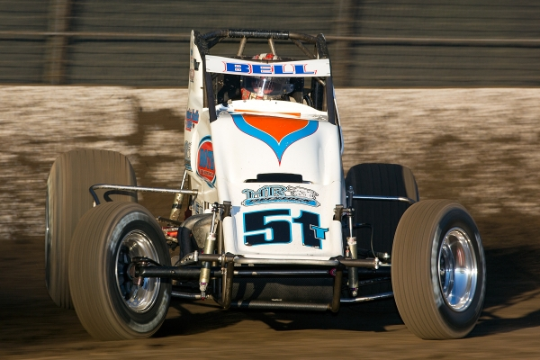 Christopher Bell wins Calistoga Sprint.
