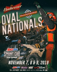 EVENT INFO: OVAL NATIONALS NIGHT #3 - NOV. 9, 2019