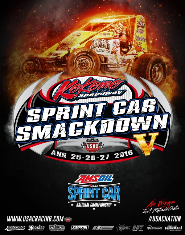 """SPRINT CAR SMACKDOWN V"" POINT STANDINGS"