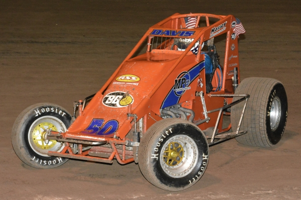 2018 USAC Southwest Sprint Car point leader Charles Davis, Jr.