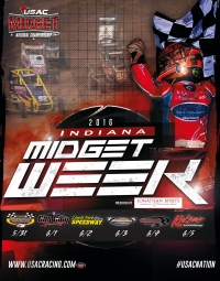 INDIANA MIDGET WEEK DATES/TIMES/INFO