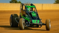 Du Quoin winner Jacob Wilson (Crawfordsville, Ind.) aims for the Illinois sweep this Sunday in the Bettenhausen 100 at the Illinois State Fairgrounds in Springfield.