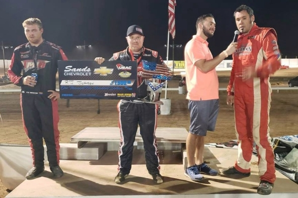R.J. Johnson wins at Arizona Speedway