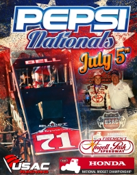 "ANGELL PARK HOSTS 34th ""PEPSI NATIONALS"" SUNDAY NIGHT"