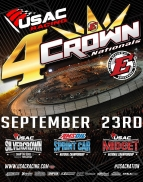 "ELDORA ""4-CROWN"" USAC MIDGET RESULTS: Sept. 23, 2017"