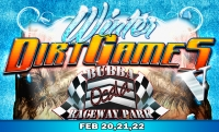 "Advance tickets for ""Winter Dirt Games 5"" available now."