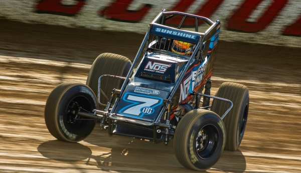 SUNSHINE SCOOPS $10 GRAND IN ELDORA'S 200TH USAC SPRINT RACE