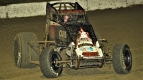 #36D Dave Darland finished 3rd in a midget Federated Auto Parts Raceway at I-55 in August 2016.