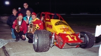 Donnie Adams won his only career USAC National Sprint Car feature in his final career start on May 16, 1997 at Anderson (Ind.) Speedway.