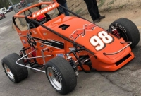 USAC Speed2 Western US Pavement Midget point leader Adam Lemke.