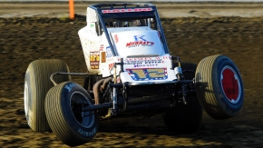 2015 USAC AMSOIL National Sprint Car champion Robert Ballou