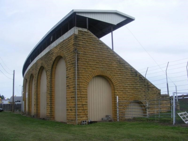 The classic section of the Belleville High Banks Turn One Grandstand will be filled with race fans when the 40th event begins next Friday Aug. 4.