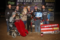 "HAGEN CLOSES ""WESTERN WORLD"" WITH HONDA NATIONAL MIDGET WIN"