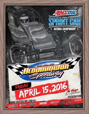 BLOOMINGTON SPEEDWAY HOSTS 31ST USAC SPRINT RACE THIS FRIDAY NIGHT