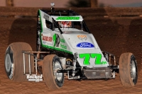 Four-time USAC Southwest Sprint Car champion R.J. Johnson.