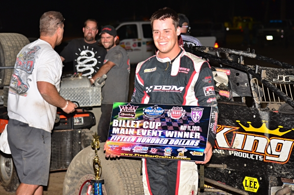 Ryan Bernal wins at Hanford.