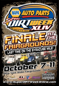 """SALT CITY 78"" FINALE OCTOBER 10 AT SYRACUSE"
