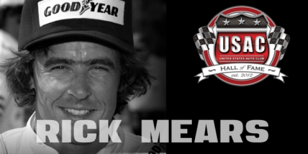RICK MEARS: USAC HALL OF FAME CLASS OF 2016