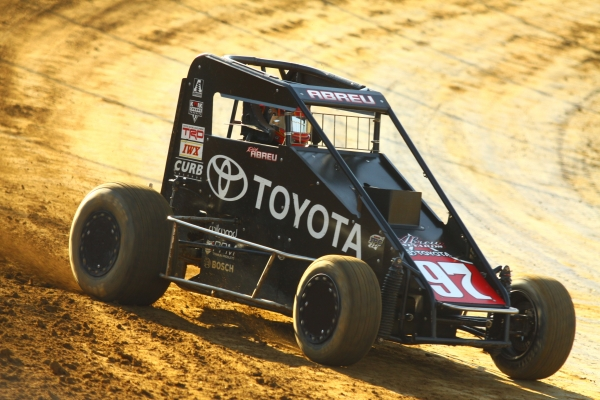 "ABREU OUTLASTS ALL FOR LAWRENCEBURG ""MIDGET WEEK"" VICTORY"