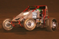 "#4 ""The Demon"" Damion Gardner. 7-Time USAC/CRA Champion."