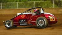 On this Sunday's Bettenhausen 100 driver entry list, C.J. Leary is the lone son of a father who competed in a USAC Silver Crown car at Springfield. His father Chuck is a three-time starter at the Springfield Mile.