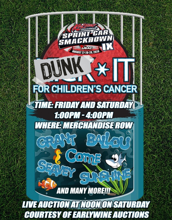 DUNK THE USAC STARS FOR A GOOD CAUSE AT SMACKDOWN IX