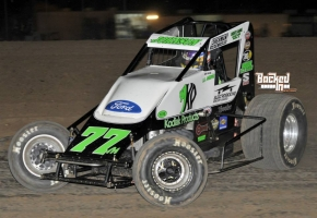 R.J. Johnson swept both races at Canyon Speedway Park.