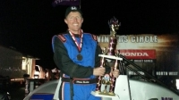 Shawn Buckley wins HPD Midget Week title.