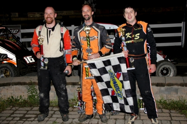 The top-3 from Saturday's DMA feature at Bear Ridge.