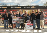 "CLAUSON CLAIMS FIRST ELDORA MIDGET WIN IN ""FOUR CROWN NATIONALS"""
