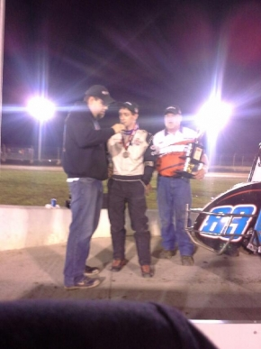 Patrick Bruns Wins Again at Kokomo.