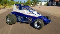 "C.J. Leary's DMW Motorsports Ride for this Sunday's ""Sumar Classic"" at Indiana's Terre Haute Action Track."
