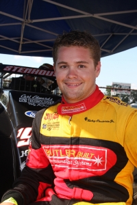 Ricky Stenhouse Jr. poses during the 2008 season, his last with USAC.