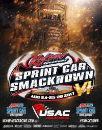 RACEDAY: Kokomo Sprint Car Smackdown Night #1 - Aug. 24, 2017