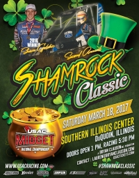 TICKETS AND FREE ENTRY NOW AVAILABLE FOR PRIZE-FILLED SHAMROCK CLASSIC IN Du QUOIN