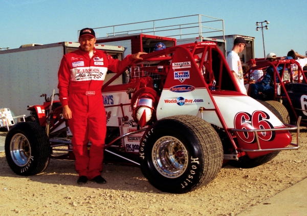 2000 USAC National Sprint Car champion Tony Elliott of Kokomo, Indiana