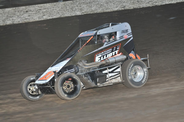 Cory Elliott - 3rd in USAC Western States Midget points.