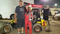 Ashley Hazelton picked up consecutive USAC Western HPD Midget wins over the weekend.