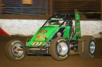 "Brody Roa captured his first career USAC AMSOIL National Sprint Car feature victory Friday night at Perris (Calif.) Auto Speedway on night two of the ""Oval Nationals."""