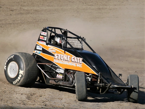 USAC/CRA AMSOIL Sprint Car point leader Richard Vander Weerd.