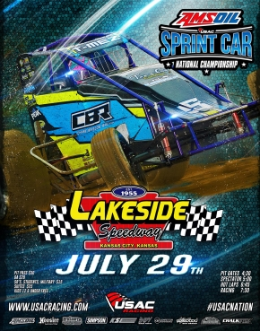 RACEDAY: Lakeside Speedway - USAC AMSOIL National Sprints - July 29, 2017
