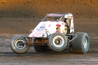 Robert Ballou, 2nd in Indiana Sprint Week presented by Camping World point standings.