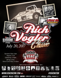 RACEDAY! Lucas Oil Raceway - USAC Silver Crown - July 20, 2017