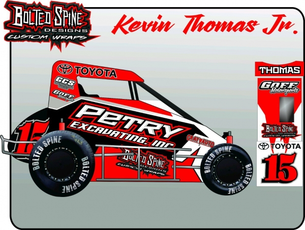 THOMAS JR. JOINS PETRY MOTORSPORTS FOR 2018 USAC MIDGET SEASON
