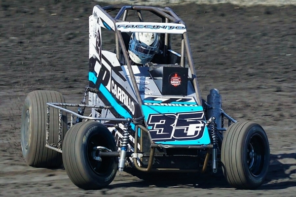 Reigning Sunday night Calistoga winner Michael Faccinto.