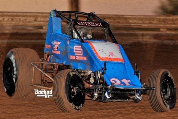 #21AZ Stevie Sussex. – USAC SouthWest Sprint Car Point Leader.